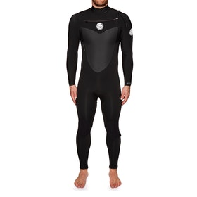 Rip Curl Flashbomb 5/3mm Chest Zip Wetsuit - Black