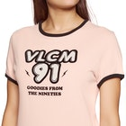 Volcom Keep Goin Ringer Ladies Short Sleeve T-Shirt