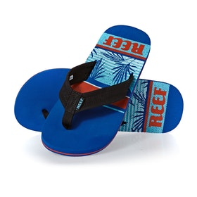 Reef Waters Sandals - Blue Palm