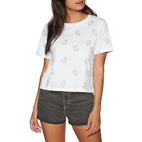 Element Falling For You Womens Short Sleeve T-Shirt - White