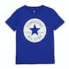 Converse Chuck Taylor Script Boys Short Sleeve T-Shirt - Blue