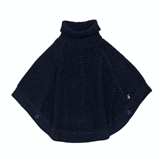 Joules Amity Chenille Girls Poncho