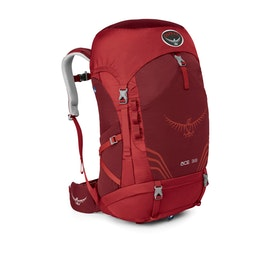Osprey Ace 38 Kids Hiking Backpack - Paprika Red