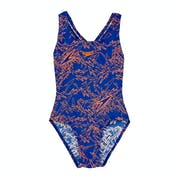 Speedo Boom All Over Splashback Girls Swimsuit