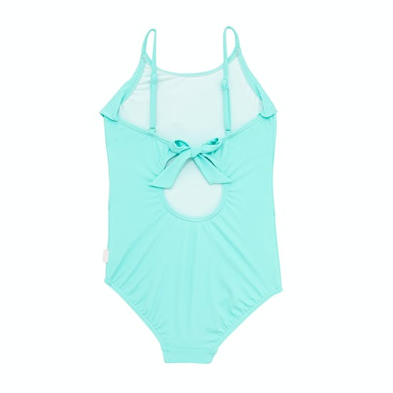 Seafolly Sweet Summer Ruffle Tank Girls Swimsuit