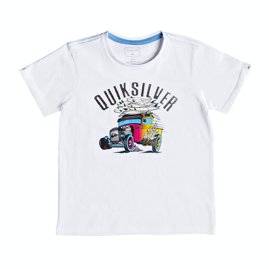 Quiksilver Hot Rod Boys Short Sleeve T-Shirt