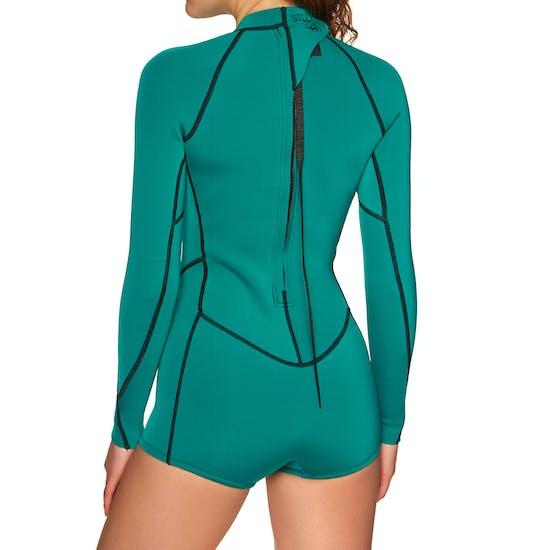 Billabong Spring Fever 2mm Back Zip Shorty Wetsuit