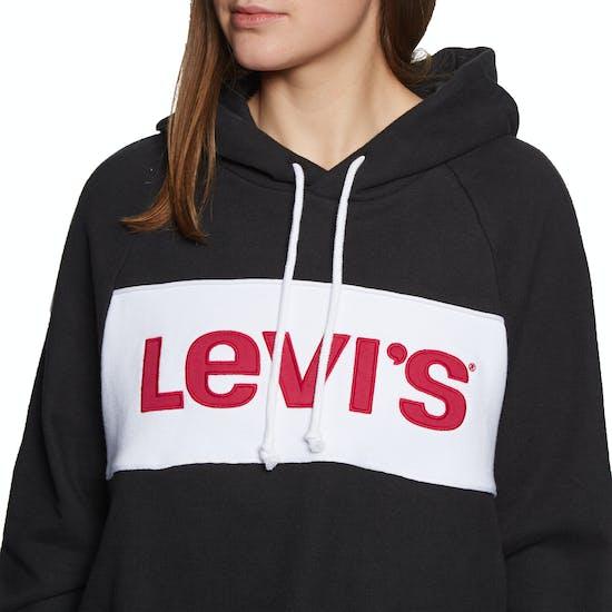 Pullover à Capuche Femme Levis Colour Block Cinched