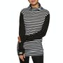Black/thick Stripe