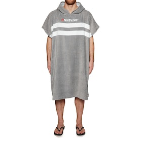 Northcore Beach Basha Changing Robe - Grey Stripe