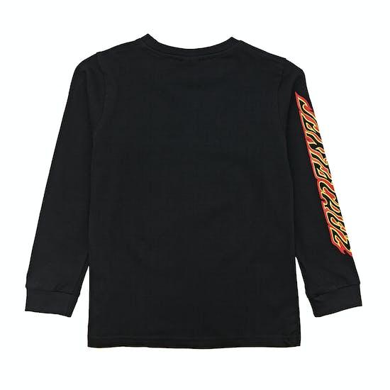 Santa Cruz Flame Dot Kids Long Sleeve T-Shirt