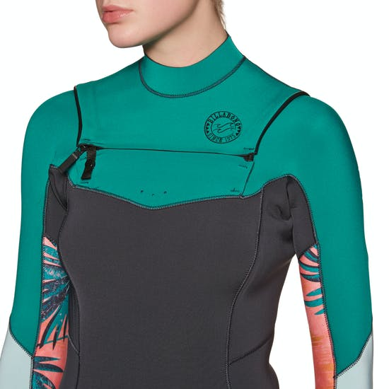 Billabong Salty Dayz 3/2mm 2019 Chest Zip Ladies Wetsuit