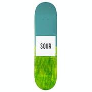 Sour Pill Green 8 Inch Skateboard Deck