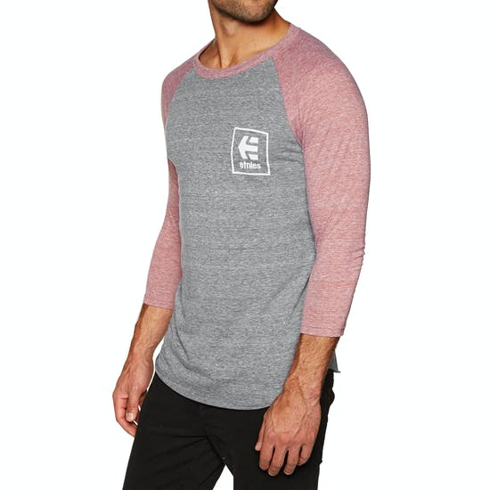 Etnies Stack Box Raglan Long Sleeve T-Shirt