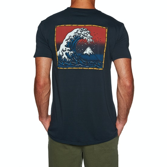 Quiksilver The Original Mountain And Wave Short Sleeve T-Shirt