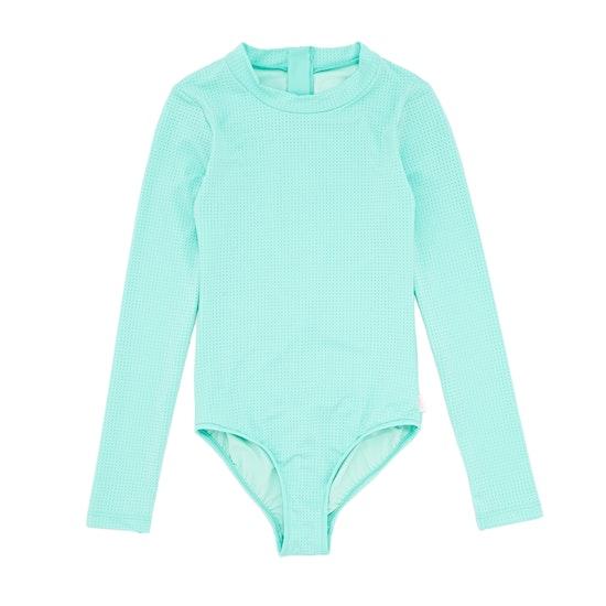 Seafolly Summer Essential LS Surf Tank Girls Swimsuit