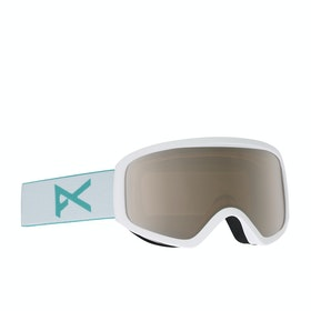 Anon Insight W spare Womens Snow Goggles - White/silver Amber