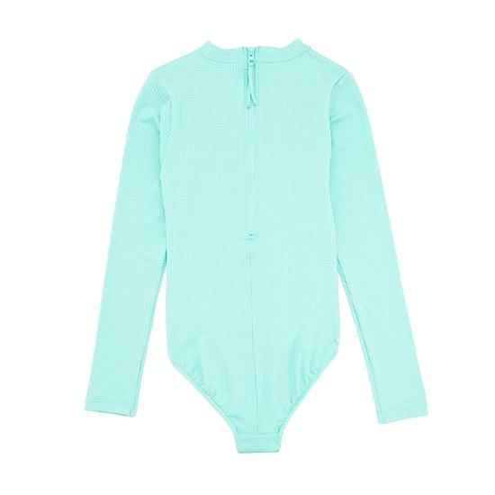 Vestimenta de natación Girls Seafolly Summer Essential LS Surf Tank