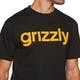 T-Shirt à Manche Courte Grizzly Lowercase