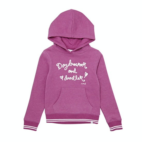 Animal Doodler Girls Pullover Hoody