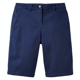 Joules Cruise Long Ladies Walk Shorts - French Navy