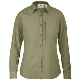 Fjallraven Abisko Hike Ladies Shirt - Savanna