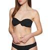 Billabong Sol Searcher Tied Bandeau Bikini Top - Black Pebble