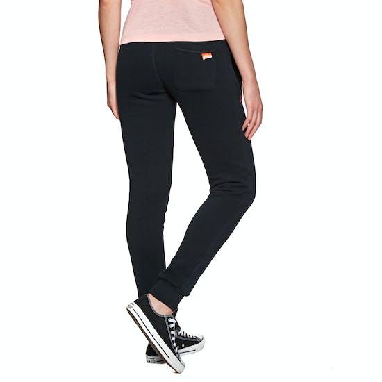 Pantalons de Jogging Femme Superdry Orange Label