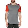 T-Shirt à Manche Courte Icebreaker Mens Sphere Crewe - Timberwolf Chili Red