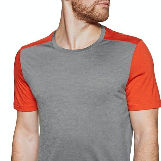 T-Shirt à Manche Courte Icebreaker Mens Sphere Crewe