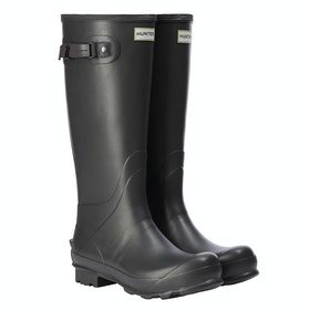 Hunter National Trust Norris Wellington Boots - Gravel