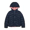 Barbour Isobath Girls Jacket - Navy Vintage Rose