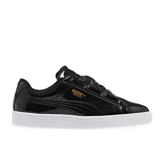 separation shoes 86835 4a58d Puma Basket Heart Patent Wn's Womens Shoes | Free Delivery ...