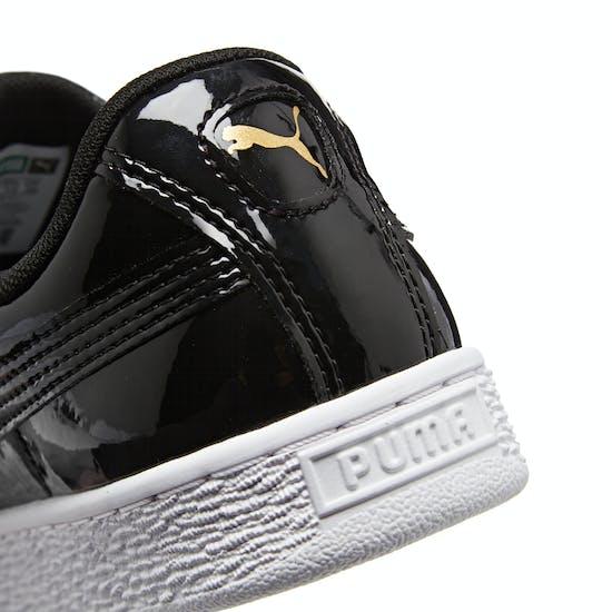 Chaussures Femme Puma Basket Heart Patent Wn's