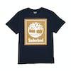 Timberland Stack Logo Short Sleeve T-Shirt - Dark Sapphire