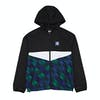Chaqueta Adidas Towning Packable Wind - Black White Blue Active Green