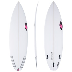 Sharp Eye Holy Toledo HT2 Thruster FCS II Surfboard - White