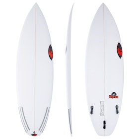 Sharp Eye The Disco Thruster FCS II Surfboard - White