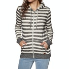 Roxy Trippin Stripes Ladies Zip Hoody