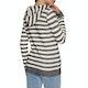 Roxy Trippin Stripes Womens Zip Hoody