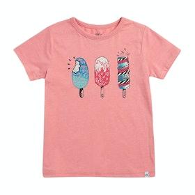 Camiseta de manga corta Girls Animal Dizzy - Ballet Pink Marl