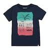 Animal Shady Shack Girls Short Sleeve T-Shirt - Patriot Blue