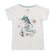 Animal Unihorse Girls Short Sleeve T-Shirt