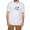 Animal Claw Kurzarm-T-Shirt - White