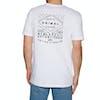 Animal Established Kurzarm-T-Shirt - White