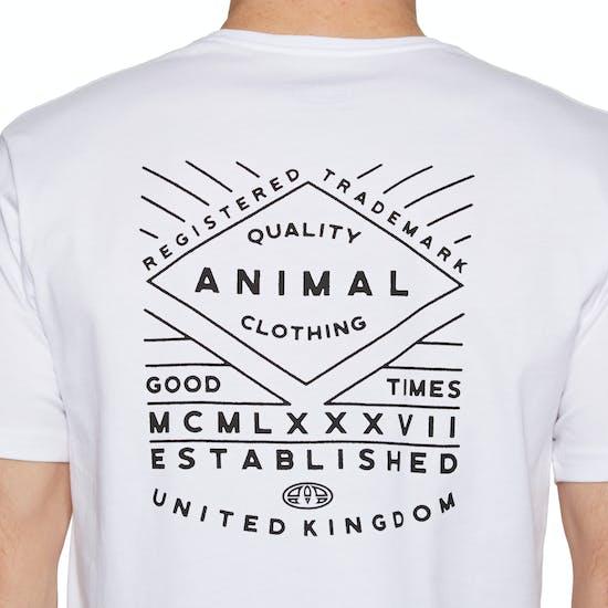 Animal Established Kurzarm-T-Shirt
