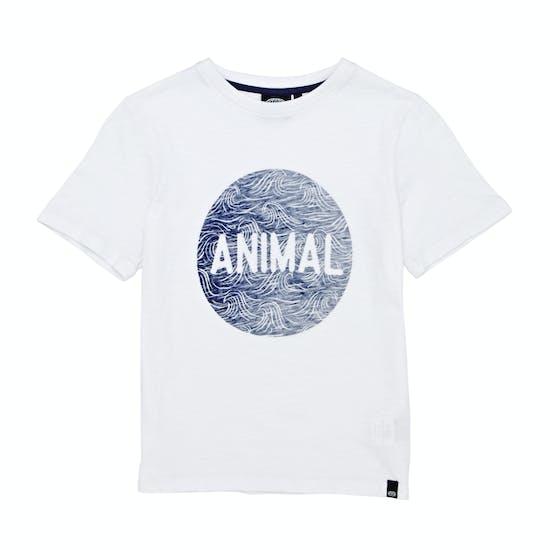 Animal Sea Spray Boys Short Sleeve T-Shirt