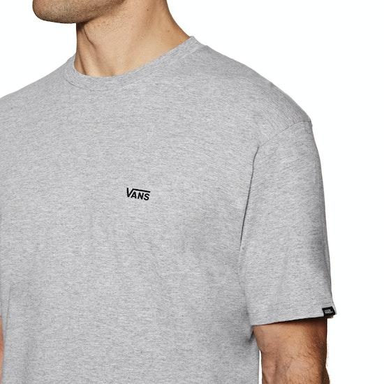 T-Shirt de Manga Curta Vans Left Chest Logo