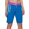 Animal Aloha June Damen Boardshorts - Snorkel Blue