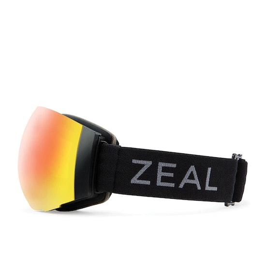 Zeal Portal Dark Night - Phoenix Mirror + Sky Blue Mirror Snow Goggles